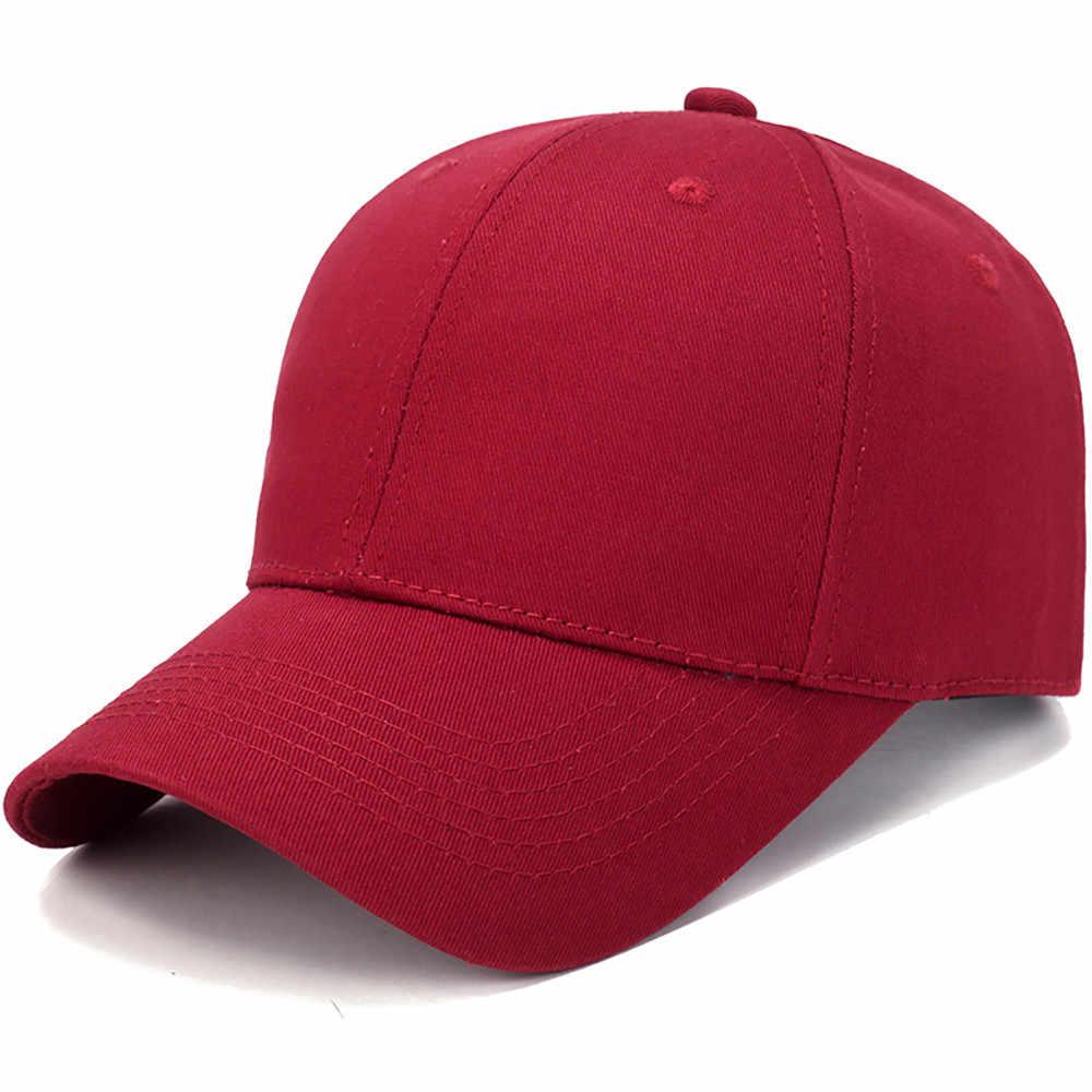 النساء الرجال قبعة القطن ضوء مجلس قبعة بيسبول بلون واحد الرجال قبعة في الهواء الطلق قبعة الشمس قابل للتعديل الرياضة قبعات في الصيف