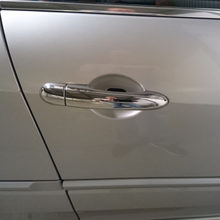 For Renault Megane ii 2 MK2 2002 2003 2004 2005 2006 2007 2008 ABS Chrome Door Handle Cover trim(China)