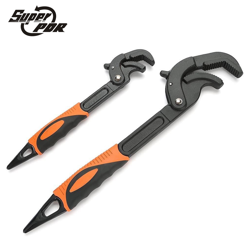 Super PDR tools 2pcs Multifunction Adjustable Spanner 14mm-30mm/30-60mm Universal Wrenches Sets sj adjustable wrenches