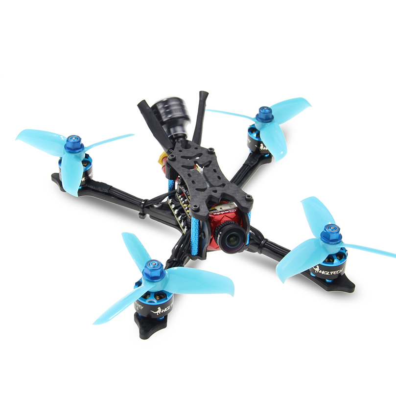 HGLRC Arrow3 152mm de 3 pulgadas F4 OSD 4S/6 S Mini FPV carreras Dron PNP BNF con 45A CES Caddx Ratel 1200TVL Cámara RC Quadcopter - 2