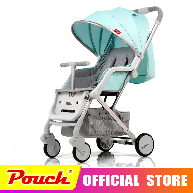 Belecoo baby strollers ultra-lightweight folding can sit can lie high landscape umbrella baby trolley summer and winter BLC eu ru no tax baby strollers lightweight folding umbrella stroller can sit can lie ultra light portable baby strollers for dolls