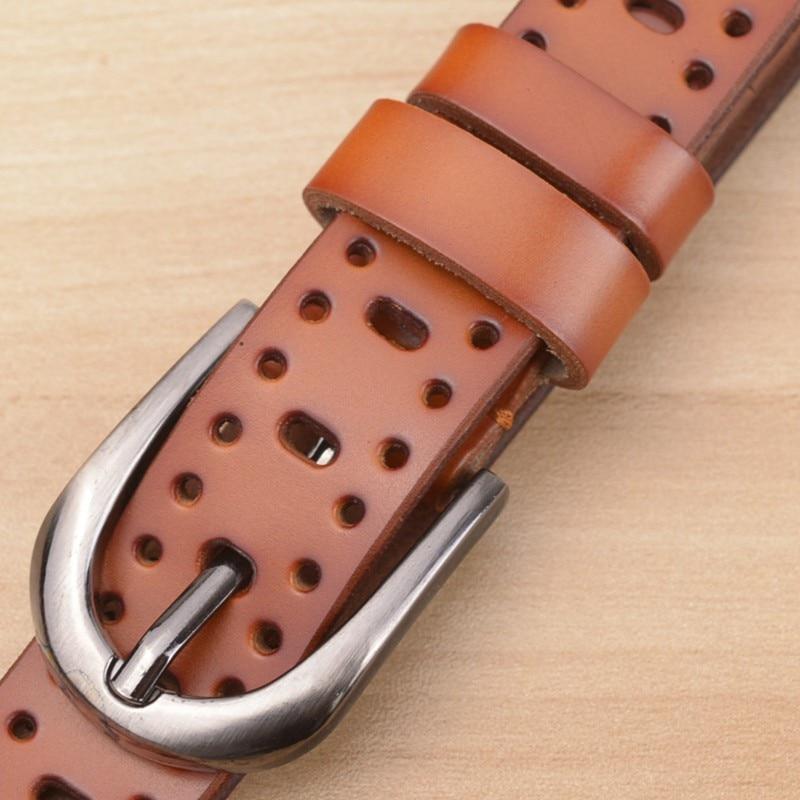 Nové módní dámské kožené opasky pro ženy vysoce kvalitní skutečné hovězí řemínky řemeny značky styl špendlík pásek jako GIFT