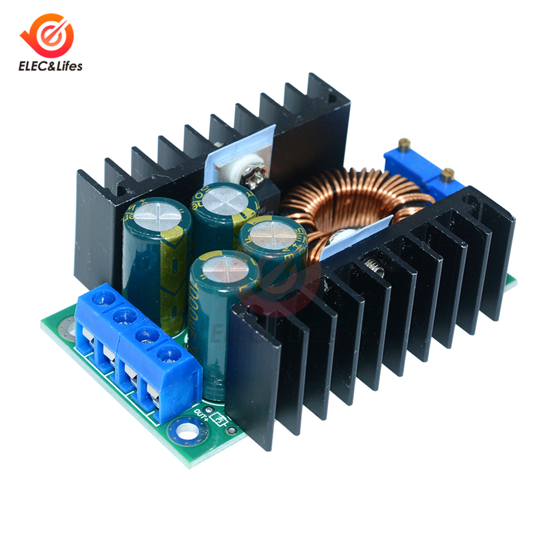 DC/CC Adjustable 0.2- 9A 300w XL4016 Step Down Buck Converter 5-40V To 1.2-35V Constant Current Power Supply Module LED Driver