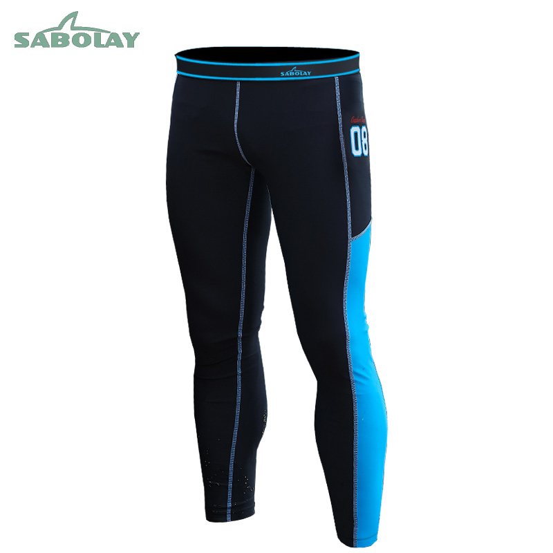 Quick Drying Men Surfing Rash Guards Wetsuit Diving Pants Mans Surf Trousers Rashguard Tights Sports Leggings NK006