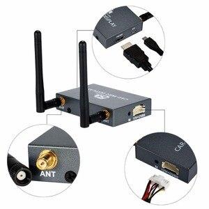 Image 5 - 車の無線 lan ディスプレイ mirabox 2.4 グラム 5 グラム無線の airplay miracast dlna スクリーンミラーリング hdmi コネクタカーモニタードングルルータボックス