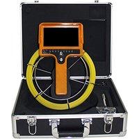 Hbuds Цвет 1000TVL 30 м кабель 7 ''TFT ЖК дисплей мозгов инспекции Камера с DVR бороскоп трубы канализационные Камера Портативный алюминий случае