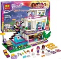 Bela Amigos 10498 Series Livi de Andrea Pop Star House Building Blocks figuras mini-muñeca Juguete Compatible con Lepin amigos 41135