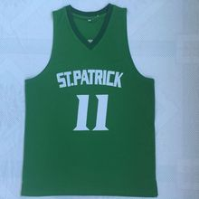 d39605e9c94 Retro College 11 Kyrie Irving ST. PATRICK School Throwback Basketball Jersey