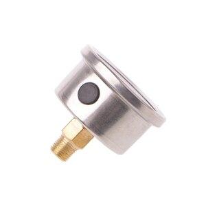 Image 2 - 有用な燃料圧力レギュレータゲージ 0 160 Psi/バー液体充填クローム燃料油ゲージ