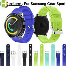 Soft Silicone watch band For Samsung Gear Sport 20mm Replacement Wristband Strap for Samsung Gear S2 Classic Lightweight fashion bemorcabo gear s2 classic gear sport band 20mm silicone watch strap for samsung gear s2 classic sm r732 r735 gear sport sm r600
