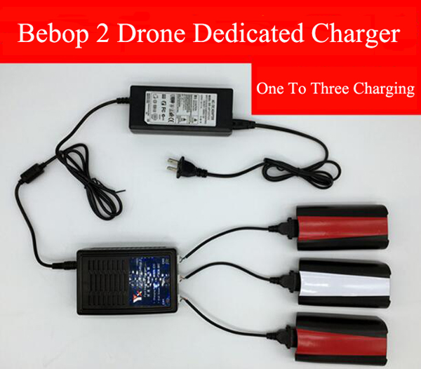 Parrot bebop 2 drone/FPV charger 1 to 3 charger parallel charging board for Parrot bebop 2 Drone bebop 2 FPV version