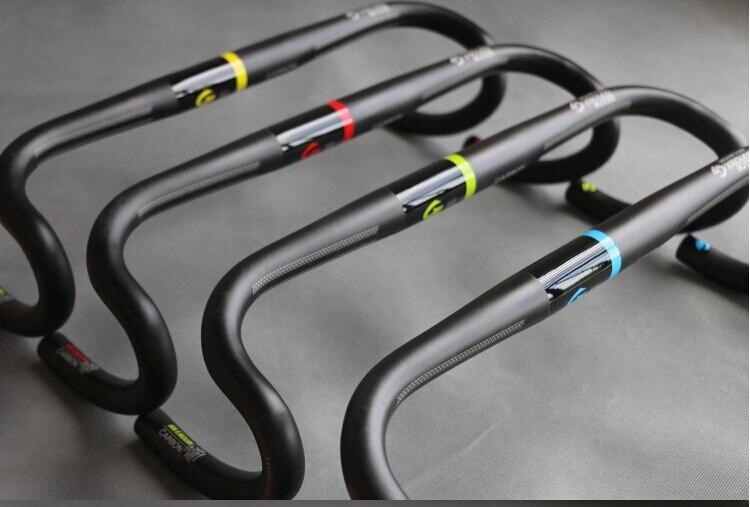 ФОТО  ASIACOM Full Carbon Fiber  Road Bike Handlebar Race Handlebar 31.8mm 400/420/440mm Newest Design