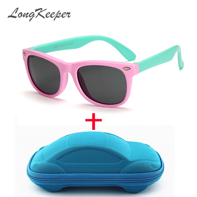 Girl's Glasses Girl's Sunglasses Knowledgeable Oculos New Kids Polarized Sunglasses Tr90 Boys Girls Sun Glasses Silicone Safety Glasses Gift For Children Baby Uv400 Eyewear