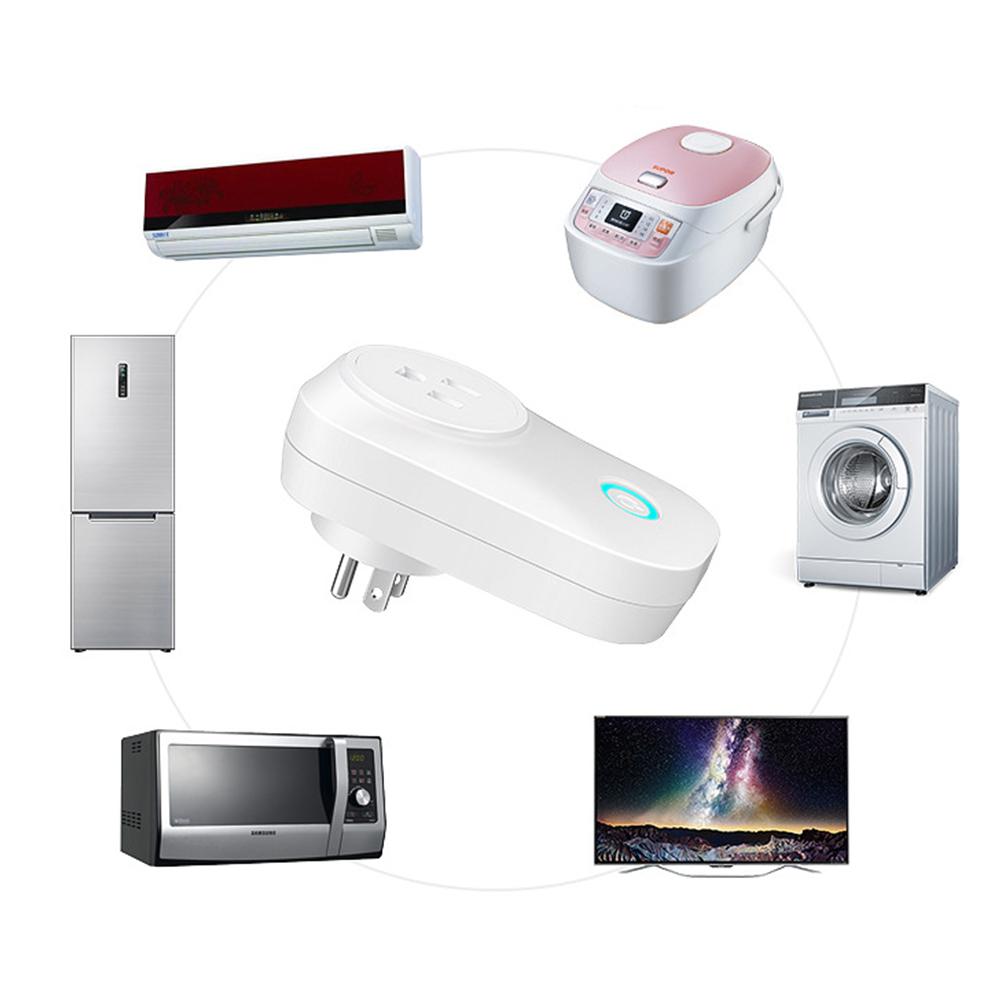 HTB1yO5TaLjsK1Rjy1Xaq6zispXaN - US UK EU AU Plug WIFI Remote Control Socket Voice Control Timing Socket Smart Home Power Socket Alexa Google Assistant IFTTT