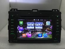 """7 """"1024*600 Android 6.0 Coches Reproductor de DVD para Toyota Land Cruiser Prado 120 2002-2009 Radio GPS Navi BT wifi 16 GB/DDR3 1G cámara"""