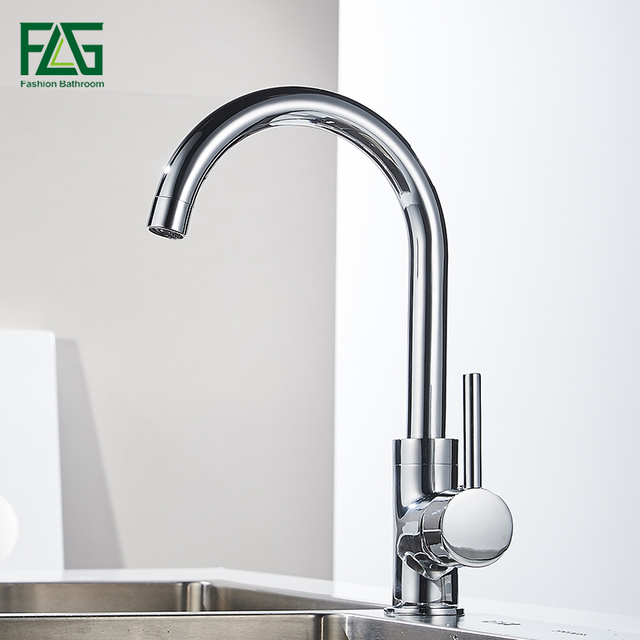FAG – Rotatable Single Hole Kitchen Faucet