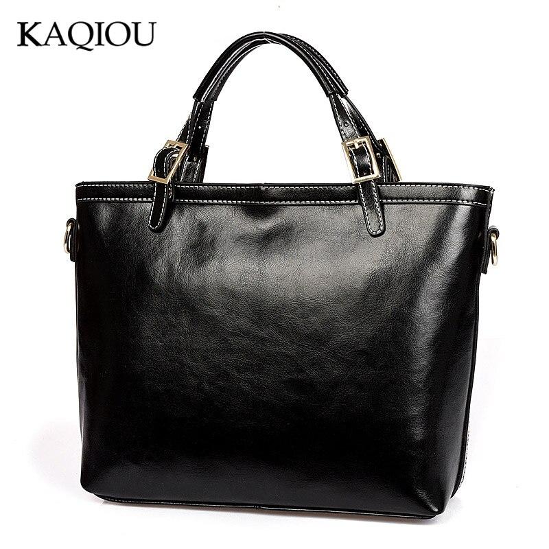 Kaqiou 2018 Дизайн er Сумки Пояса из натуральной кожи Для женщин сумки большой Для женщин Сумки на плечо крестом замок Дизайн леди сумка