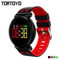 TORTOYO K2 Smart Bracelet Blood Pressure Heart Rate Monitor Blood Oxygen Detection IP68 Waterproof Swim Multilingual