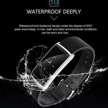 KN108 BT4.0 Smart Wristband Blood Pressure Oxygen Smart fitness Bracelet Heart Rate Monitor Smartband Smart band For Android
