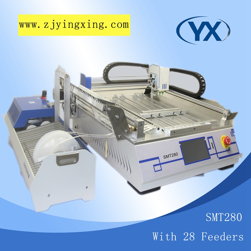 Electronic Equipment With28 Feeders SMT280 High Cost Performance Pick and Place Machine Solder Paste Printer