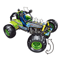 StZhou 38001 494pcs Technic City Series 2 in 1 Formula Off Roader Car Building Blocks Bricks Model Kids Toys Marvel