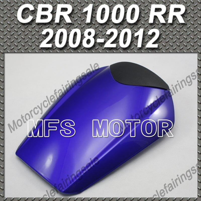 Motorcycle Rear Pillion Blue Seat Cowl Cover For Honda CBR1000RR CBR 1000 RR 2008 2012 09 10 11