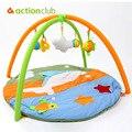 Esteira Do Jogo Do Bebê Brinquedo do bebê 0-1 Ano Crianças Jogo Tapete Infantil Educacional Rastejando Esteira do Jogo Ginásio Cobertor Dos Desenhos Animados Tapete Colorido brinquedos