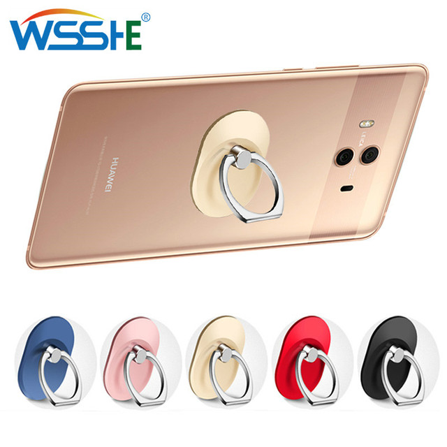 Universal Stent Mobile Phone Holder Stand Finger Ring Magnetic For cute Cell Smart Phone Transparent holder for iphone XS MAX 8