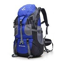 Hot Sale 50L Outdoor Backpack Camping Bag Waterproof Mountaineering Hiking Backpacks Molle Sport Bag Climbing Rucksack