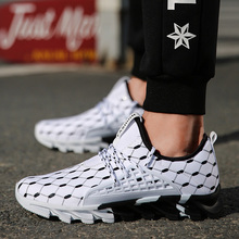 2019 Running Shoes Men Outdoor Breathable Jogging Sports Blade Shoes Men Walking Sneakers For Men Athletic Male Trainers цена в Москве и Питере