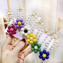 1Pc Sweet Resin Flower Faux Pearl Candy Color Hairpin for Women Girls Hair Clip Barrette Headwear Baby Hair pin Hair Accessories sweet faux pearl leaf anklet for women