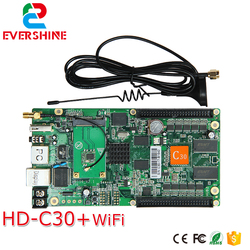 C30 HD-C30 Беспроводная система отправки и приема все-в-одном полноцветная карта управления специализируется на маленьком светодиодном диспле...