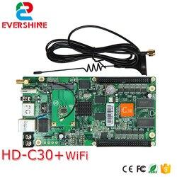 C30 HD-C30 sistema de envío y recepción inalámbrico tarjeta de control a todo color todo en uno especializada en pantalla LED pequeña