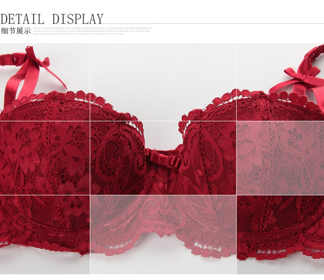 be5f4fbb398 Online Shop Women s Summer Fashion Sexy Intimate Underwear Half Cup ...
