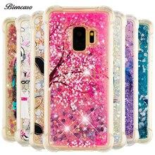 Biencaso Glitter Dynamic Liquid Case For Samsung