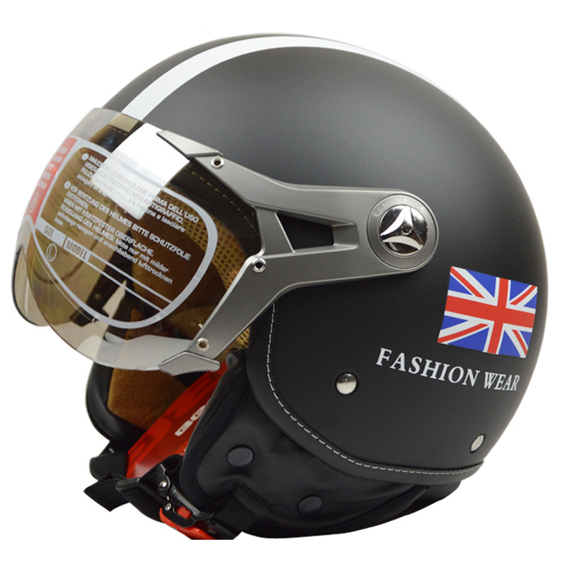 Beon 120 casque moto rcycle demi casque électrique vélo face ouverte casque ECE coffre-fort approuvé casco moto beon capacete casques