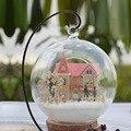 Kit Modelo de Casa De Bonecas Em Miniatura de Brinquedo de montar Casa de Sonho Quarto DIY Casa Caixa Artesanal Casa de Bonecas Menina Presente Namorada Presentes