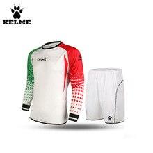 KELME Men Football Keepers Kleding Goleiro Uniforme Goalkeeper Uniform Customize Sets Voetbal Keeper Tenue 28