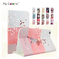 For Samsung Galaxy Tab 3 8 0 T311 PU Leather Case Cover Colorful Print Protective Stand