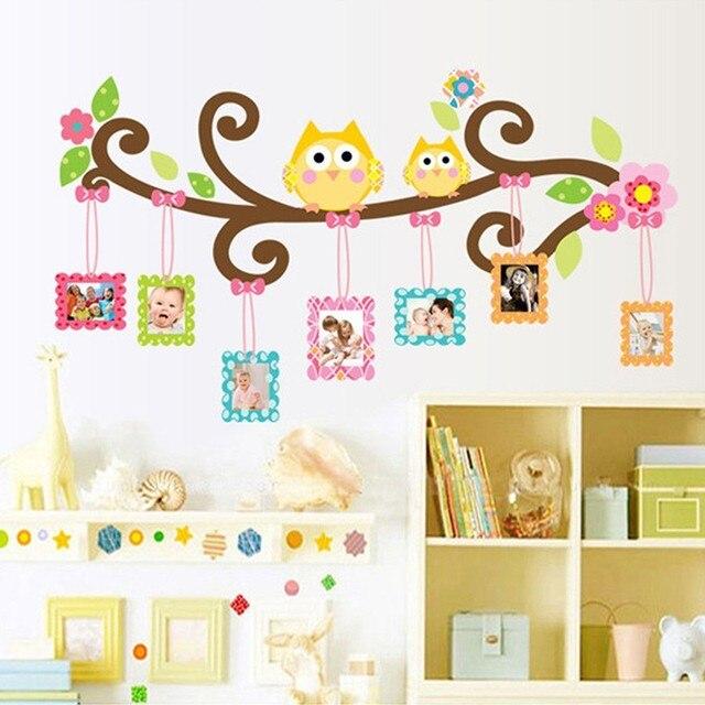 Familia b hos rbol foto marcos adhesivos de pared para for Adhesivos para pared infantiles