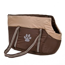 Free Shipping Pet Cat Bag Leisure Style Kitten Handbag Walk Outside Product Paw Prints High Quality Pet Product Supplier S/M