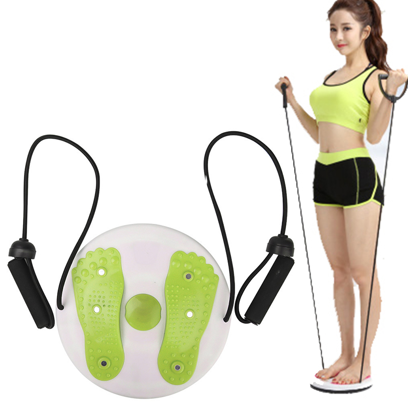 Fitness Twisted waist Plate Magnet waist wriggle Plate Balance Aerobic Exercise Foot Massage Disc Twist Board