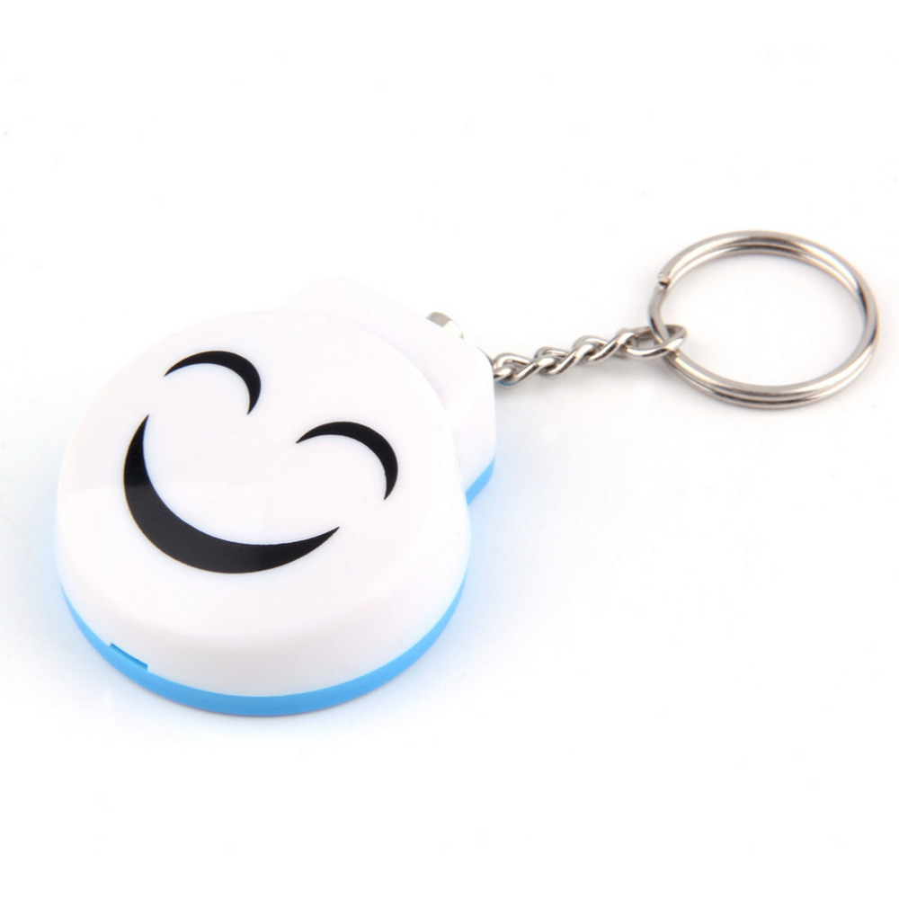 White Personal Alarm 120dB Security Siren Alarm Attack Protection Key Chain Personal Alarm Wholesale