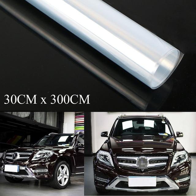 11x118 투명 페인트 보호 비닐 필름 포장 투명 자동차 페인트 쉴드 새로운