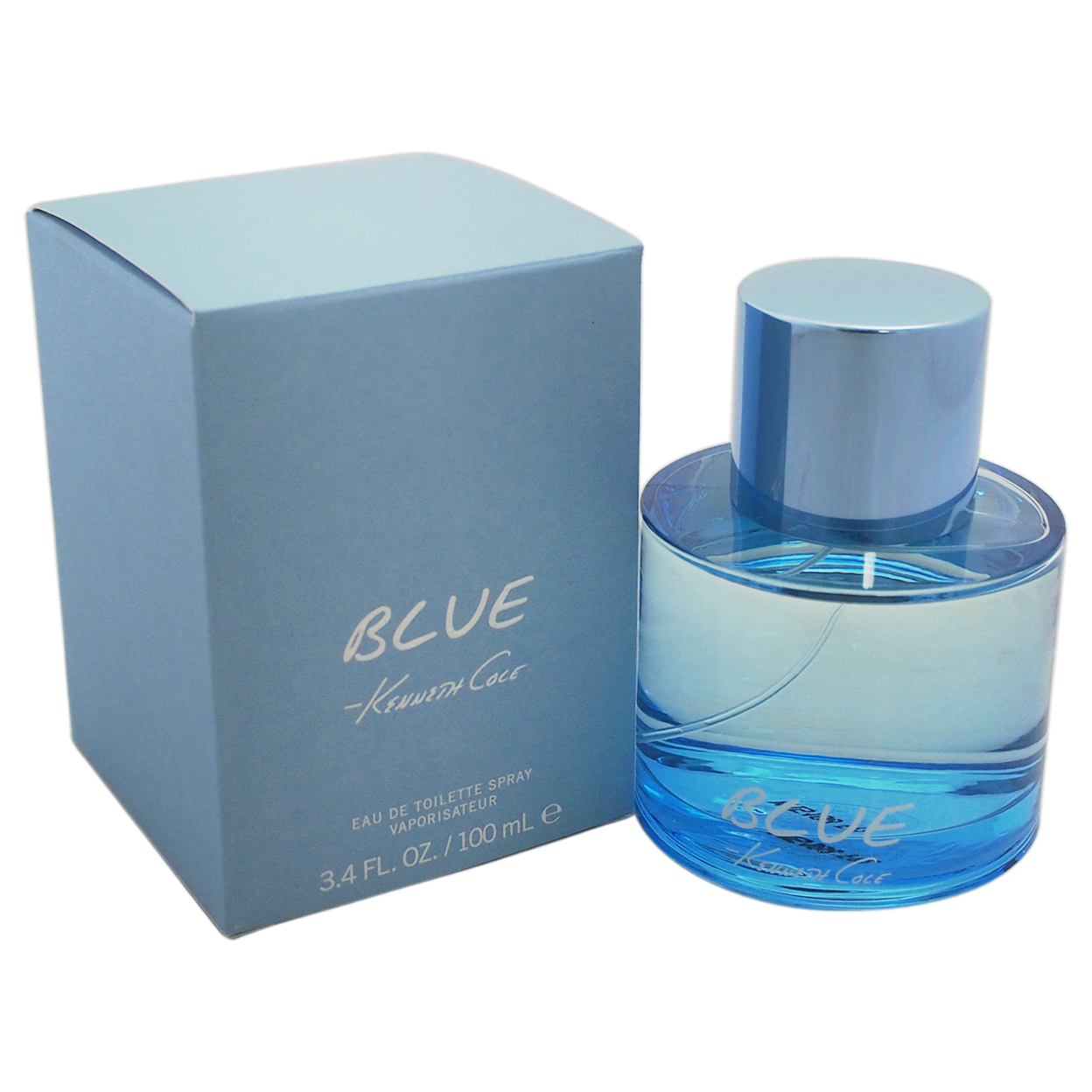 где купить Kenneth Cole Blue by Kenneth Cole for Men - 3.4 oz EDT Spray дешево