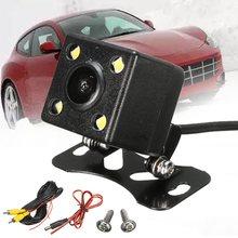 Opinión Posterior del coche de Copia de seguridad LED de La Cámara Para Un Solo Coche GPS 1 Din MP3/MP5 Reproductor Bluetooth