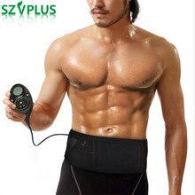 150 مستويات كثافة 10 طرق قابلة للشحن العضلات محفز سليم تدليك BeltAbs البطن جهاز ضبط مظهر العضلات التخسيس فليكس حزام