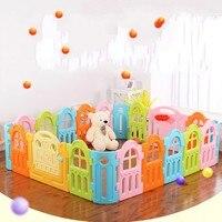 Новый Дизайн Indoor детские манежи ребенок малыш игровой деятельности пространства безопасной ограждение смешанные Цвет