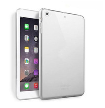 Купить с кэшбэком ULIFART Crystal Clear Case Soft TPU Gel Silicone Bumper Case Back Skin Protective Cover For Apple iPad Mini4 For Ipad mini123