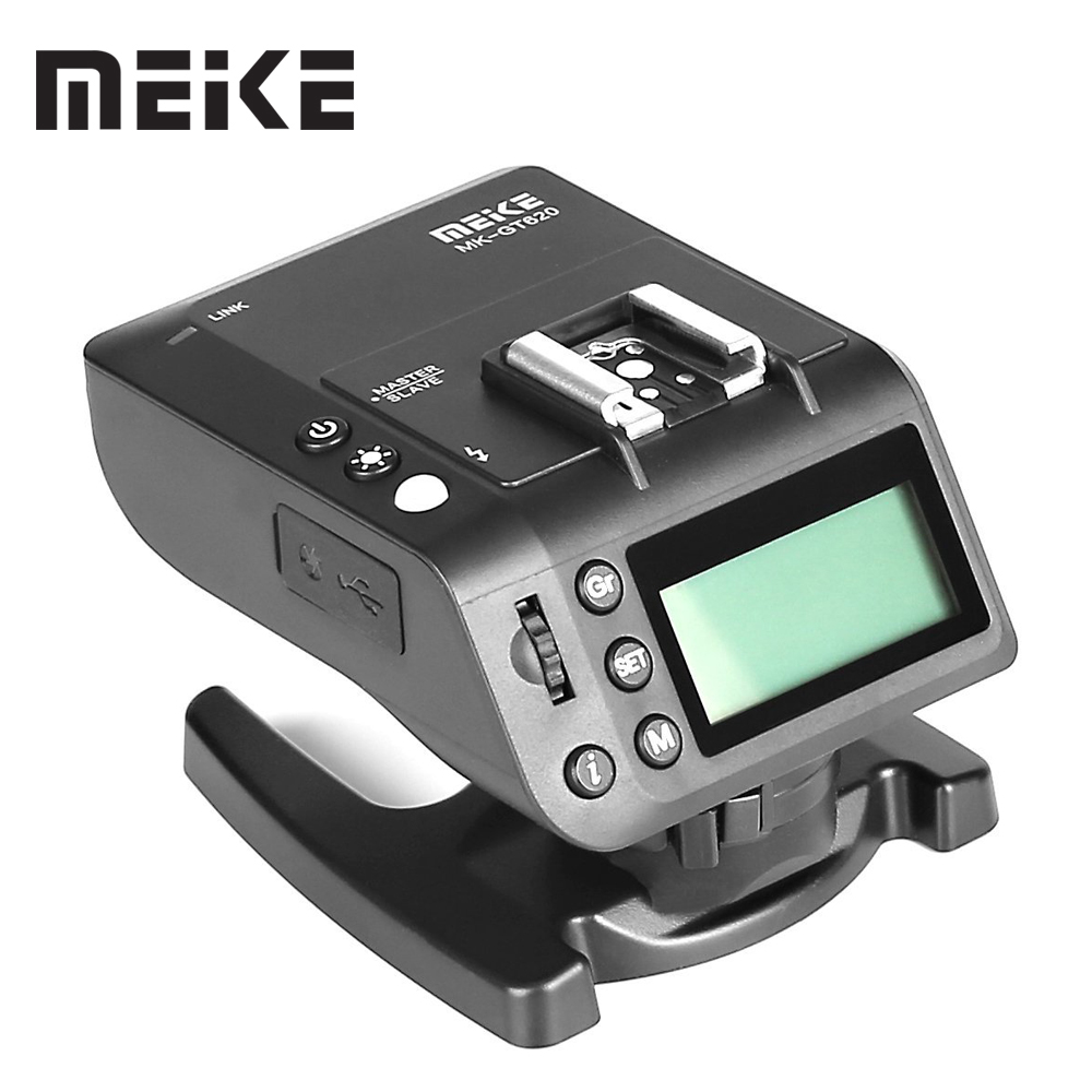 Meike MK-GT620 2.4GHz Wireless Hot Shoe Flash Trigger Kit Transmitter Receiver for Nikon D5300 D200 D7100 Digital SLR Cameras